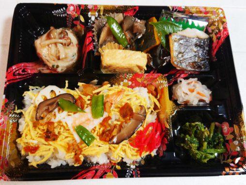 ボリューム満点の寿司御膳